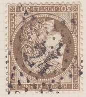 N°56 étoile 24, TB. - 1871-1875 Cérès