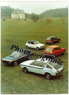 Autos Voitures Automobiles Cars - Photo De Presse Originale - RENAULT R17 TS - R15 TS - R5 Série Spéciale TS ? - Automobiles
