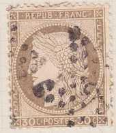 N°56 étoile 3, TB. - 1871-1875 Cérès