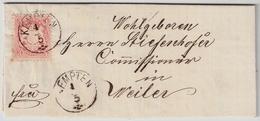 """1874, Zier-K1 """" KEMTEN """", Luxus! , A1757 - Bavaria"""