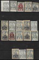 Yougoslavie Lot De 18 TP Neufs **/*/SG Pour Journaux Entre 1919 Et 1921 Bosnis Herzegovine Départ Petit Prix - Lots & Kiloware (mixtures) - Max. 999 Stamps