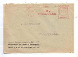 JUDAICA - Freistempler, J.K.V. Jüdische Kulturvereinigung Zu Berlin, Gesamtarchiv Der Juden In Deutschland, 1941 - Jodendom