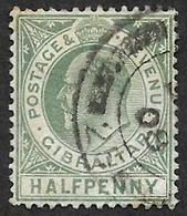 GIBRALTAR 1904  - YT 47 - Edouard VII -  Oblitéré - Gibraltar