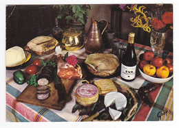 Recettes De Cuisine N°34 Galettes De Blé Noir En 1974 Gastronomie Française Andouille Pain Rond Fromage Vin - Recettes (cuisine)