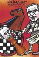 CPM échecs Chess Jihel Tirage Signé 30 Exemplaires Numérotés Signés Gary Kasparov Russie Poutine - Schach