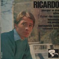 Disque 45 Tours RICARDO - 1965 - Musique De Films