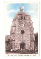 Lormont (33 - Gironde) L'église - France