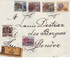 125 P Rare  Série 398 A.F ROTARY 1931 - Lettres & Documents