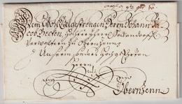 """1740, Schnörkel-Bf. """" Rotenburg Ob Der Tauber """"   , A1760 - Bayern"""