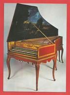 """C.P.M."""" PARIS """" Musée Instrumental Du Conservatoire (CLAVECIN Fait Par Nicolas Dumont En 1697)  -Voir 2 Photos - Museum"""