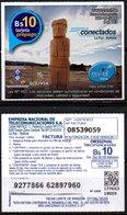 Bolivia 2018 - 07-06-2020 Primera Edición. Prepago ENTEL MOVIL. Monolito. Arqueología. - Bolivia