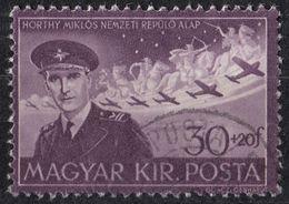 UNGHERIA - 1943 -  Posta Aerea Yvert 57 Usato. - Posta Aerea