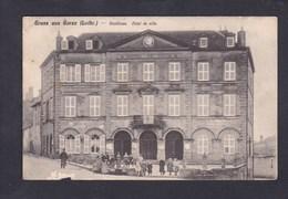 Gruss Aus Gorze ( Moselle 57) Stadthaus Hotel De Ville ( Animée Ed. Geibel ) - Autres Communes