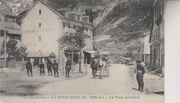 LLA CONDAMINE   LA PLACE PUBLIQUE - Autres Communes