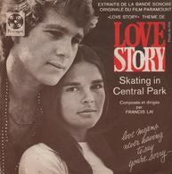 """Disque 45 Tours FRANCIS LAI Musique Du Film """"LOVE STORY"""" - Musique De Films"""
