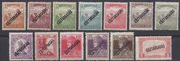 UNGHERIA - 1917/1918  - Lotto Di  13 Valori Nuovi MH/MNH: Yvert 196/199, 201/206, 211/213, Come Da Immagine. - Hungary