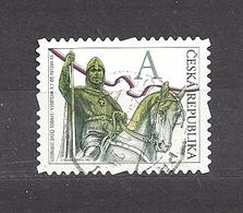 Czech Republic 2012 ⊙ Mi 723 Sc 3536 St. Vaclav. St. Wenceslas. The Stamp Portrays J.V. Myslbek C15 - Tchéquie
