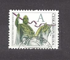 Czech Republic 2012 ⊙ Mi 723 Sc 3536 St. Vaclav. St. Wenceslas. The Stamp Portrays J.V. Myslbek C16 - Tchéquie