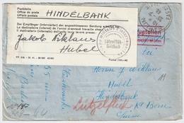 1941, Internierten-Post , Selt. Zettel, Internement , R! , A1763 - Schweiz