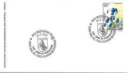 SG0215 - ANNULLO MEZZOCORONA - CORPO VIGILI DEL FUOCO VOLONTARI MEZZOCORONA - 25.05.2002 - 6. 1946-.. Repubblica