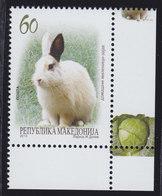Macedonia 2013 Pets - Rabbit, MNH (**) Michel 650 - Macedonia