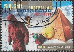 AUSTRALIAN ANTARCTIC TERRITORY 1997 50th Anniv National Antarctic Research Expeditions -$1.20 - Scientists And Tents FU - Territoire Antarctique Australien (AAT)