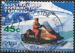 AUSTRALIAN ANTARCTIC TERRITORY 1998 Antarctic Transport - 45c - Skidoo FU - Australian Antarctic Territory (AAT)