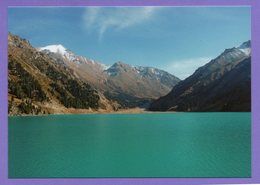 Kazakhstan 2004. Postcards. Almaty. Big Almaty  Lake. The Mountains. - Kazakistan
