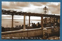 LISBOA MIRADOURO DE STA. LUZIA VISTA DO RIO TEJO UNUSED - Lisboa