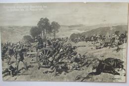 Frankreich St. Quentin Eroberung Franz. Geschütze 1914 (9694) - Weltkrieg 1914-18