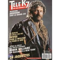 Tele K7 N°421 Robin Williams   +++TBE+++ PORT GRATUIT - Fernsehen