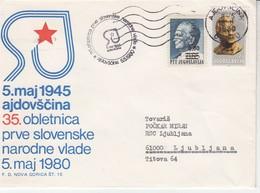 3647  BRIEF    SLOVENIJA- ALDOVŠČINA - Slovénie