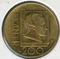 San Marin Marino 200 Lire 1996 Kant KM 356 - Saint-Marin