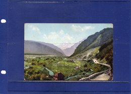 ##(ROYBOX1)- Postcards - Russia - The Caucasus- The Georgia Military Road The Redant Valley - Used 1914 - Russia