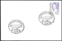 Italia Italy (2018) Special Postmark: Roma; 90° Ann. Spedizione Dirigibile Italia/90th Ann. Expedition Airship Italia - Polar Flights
