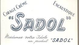 Buvard SADOL Cirage Crême Mesdames Votre Idole Un Produit SADOL - Chaussures