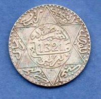 Maroc -  1/4 Rials 1321 Berlin  -  état  TTB+ - Maroc