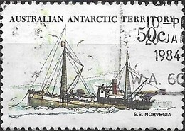 AUSTRALIAN ANTARCTIC TERRITORY 1979 Ships - 50c - Norvegia (supply Ship) FU - Australian Antarctic Territory (AAT)