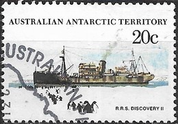 AUSTRALIAN ANTARCTIC TERRITORY 1979 Ships - 20c - Discovery II (supply Ship) FU - Australian Antarctic Territory (AAT)