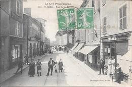 SAINT-CERE - Rue De La République. - Saint-Céré