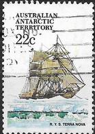 AUSTRALIAN ANTARCTIC TERRITORY 1979 Ships - 22c - Terra Nova (Scott's Ship) FU - Australian Antarctic Territory (AAT)
