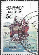 AUSTRALIAN ANTARCTIC TERRITORY 1979 Ships - 5c - Thala Dan (supply Ship) FU - Australian Antarctic Territory (AAT)