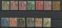 INDOCHINE N° 24 à 35 + 37 De 1904 - Indochina (1889-1945)