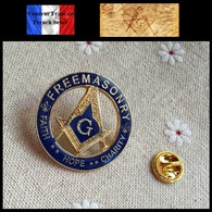 Pins Pin's Badge NEUF En Métal ( Brooch ) - Franc Maçon Freemason Masonic ( Ref 1 ) - Pin's