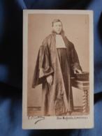 Photo CDV Pilotelle à Poitiers - Second Empire Magistrature Avocat En Pied Datée 1869 L419 - Alte (vor 1900)