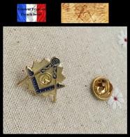 Pins Pin's Badge NEUF En Métal ( Brooch ) - Franc Maçon Freemason Masonic ( Ref 4 ) - Pin's
