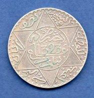 Maroc -  1/2 Rial  1323  Paris -  état  TTB - Maroc
