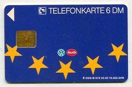 TK 37884 GERMANY - O 679 03.93 Volkswagen & Audi 15 000 Ex. - O-Series : Customers Sets
