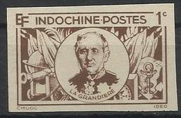 INDOCHINE N° 263 263a ND NON DENTELE - Indochine (1889-1945)