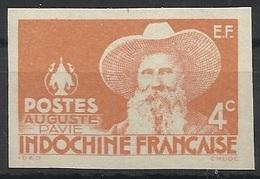 INDOCHINE N° 253 253a ND NON DENTELE - Indochine (1889-1945)